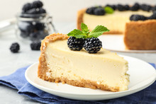 Piece Of Delicious Cheesecake ...