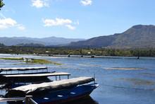 Lake Danau Batur In Bali Indon...