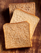 One Slice Of Wholemeal, White ...