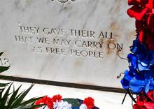 War Memorial With An Inscripti...