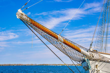 Prow Of A Sail Ship During A S...
