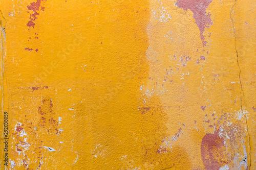 Yellow Wall Arles Canvas Print