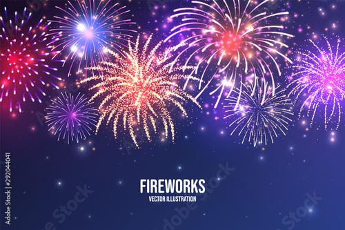 Fotografia, Obraz Festive fireworks