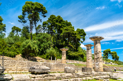 Fotomural  Archaeological Site of Olympia in Greece
