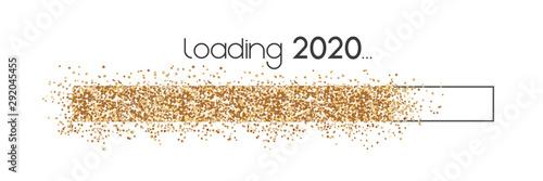 Cuadros en Lienzo  Ladebalken 2020 Glitter