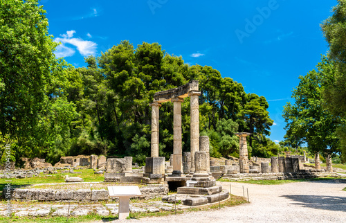 The Philippeion at Olympia in Greece