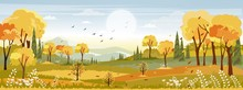 Panorama Landscapes Of Country...