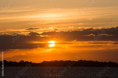 summer sunset assateague island national seashore chincoteague bay