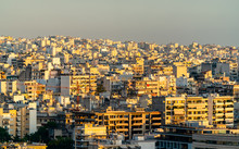 View Of Athens From Filopappou...