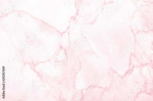 Stickers pour portes Roses Marble wall surface pink background pattern graphic abstract light elegant white for do floor plan ceramic counter texture tile silver pink background natural for interior decoration and outside.
