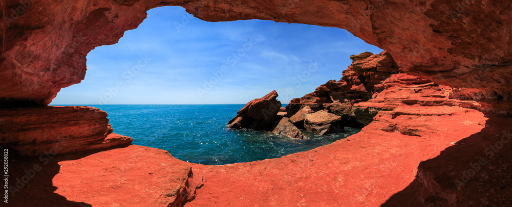 Fototapety, obrazy: gantheaume point at high tide