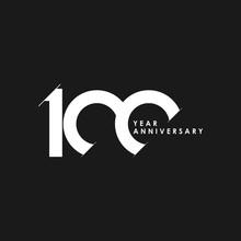 100 Years Anniversary Vector T...