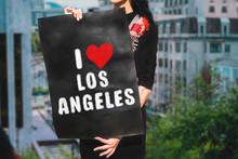 "The Phrase "" I Love Los Angele..."