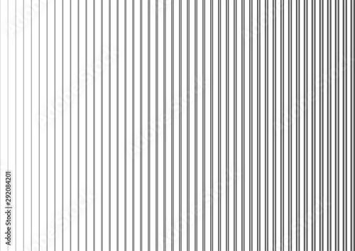 Stampa su Tela  Vertical lines, linear halftone