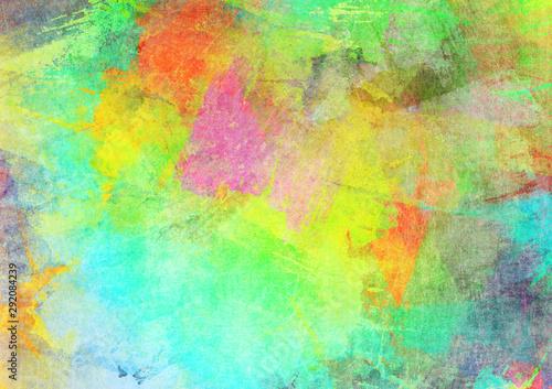 Fototapeta  Grungy colorful background