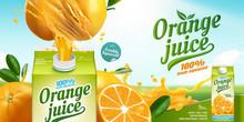 Orange Juice Ads