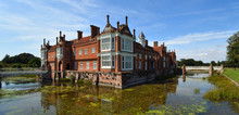 Helminngham Hall With Moat Br...