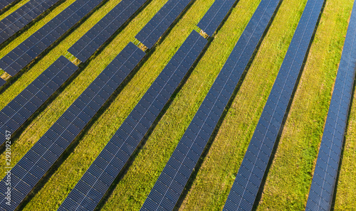 Solar panels as a symbol of renewable energy