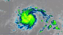2019 Hurricane Jerry Band: 12  This Work Is Created Using GOES Satellite Imagery Provided By NOAA / NASA That Is Not Subject To Copyright Protection.