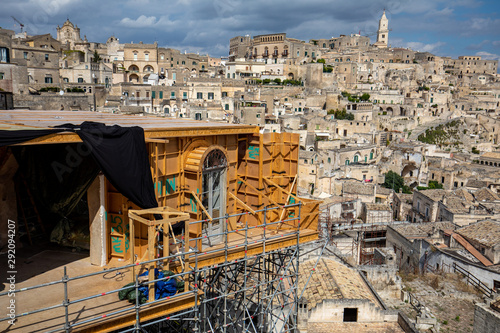 Fotografía Bond apartment from the movie  No Time to Die in Sassi, Matera, Italy