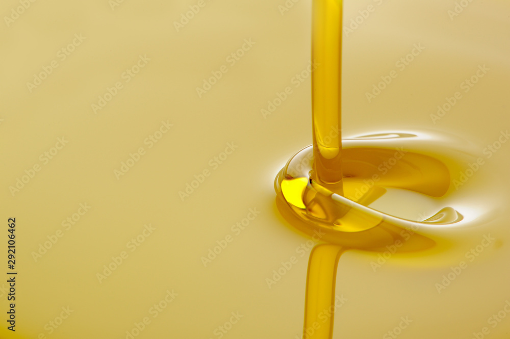 Fototapety, obrazy: Pouring Olive Oil With Copy Space