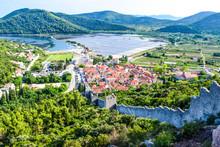 The Saltworks Ston, Croatia.