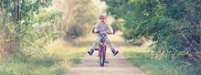 Bewegung Mit Dem Fahrrad