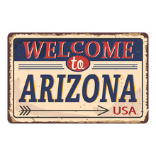 Welcome To Arizona Vintage Rus...