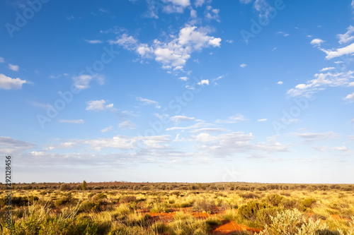 Foto auf AluDibond Himmelblau landscape scenery of the Australia outback