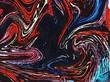 Leinwanddruck Bild - Abstract pop dots comic effect texture background. Swirl colorful pattern