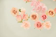 Flower Petals Lie In The Bath ...