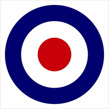 Red White And Blue Roundel