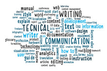 Technical Writing Word Cloud. ...