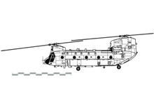 Boeing CH-47 Chinook. Outline ...