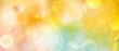 canvas print picture - Banner Blume des Lebens in warmem gelben Licht