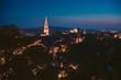 night capture of the historic city of Bern, Switzerland