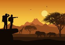 Realistic Illustration Of Afri...