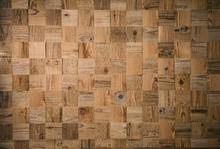 Square Decorative Wooden Plank...