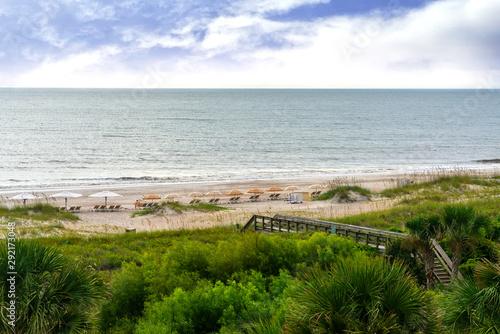Beach on Amelia Island, Florida Canvas Print