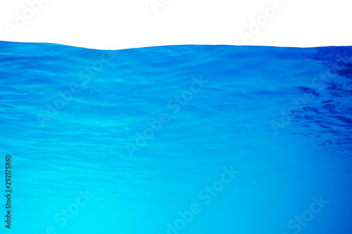 Fotomural  underwater background with sun ray and water ripple texture for your abstract design