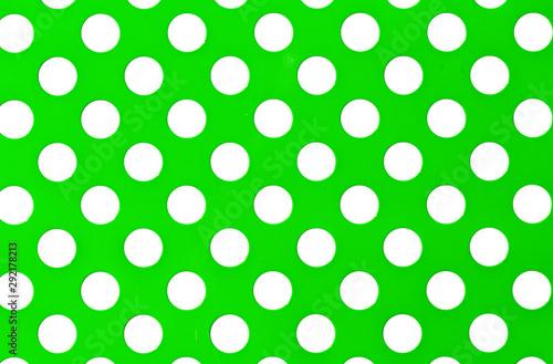 Valokuva  Métal vert perforé