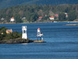 canvas print picture - Wasser Meer in Norwegen im Sommer
