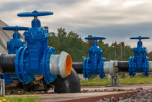 Blue Valves For Source Water T...