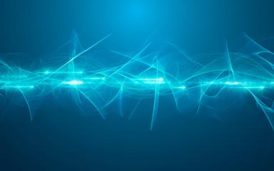 energia, plasma, connessione, fibra ottica,