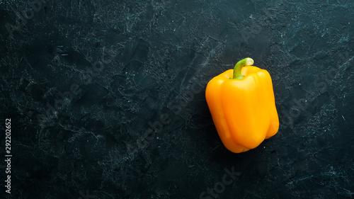 Fotografering  Sweet yellow bell pepper
