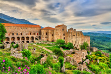 The Despot's Palace At Mystras In Greece