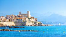Historic Center Of Antibes, Fr...