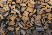 Wood For The Stove For Cold An...