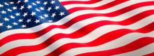 Waving Flag Of United States -...
