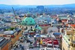 View of Vienna from a height